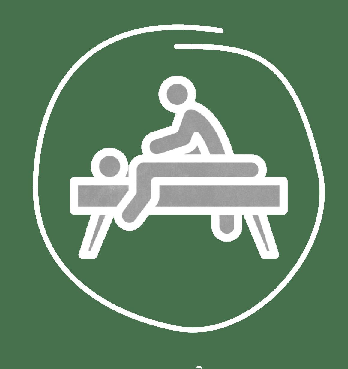 icone da massagem